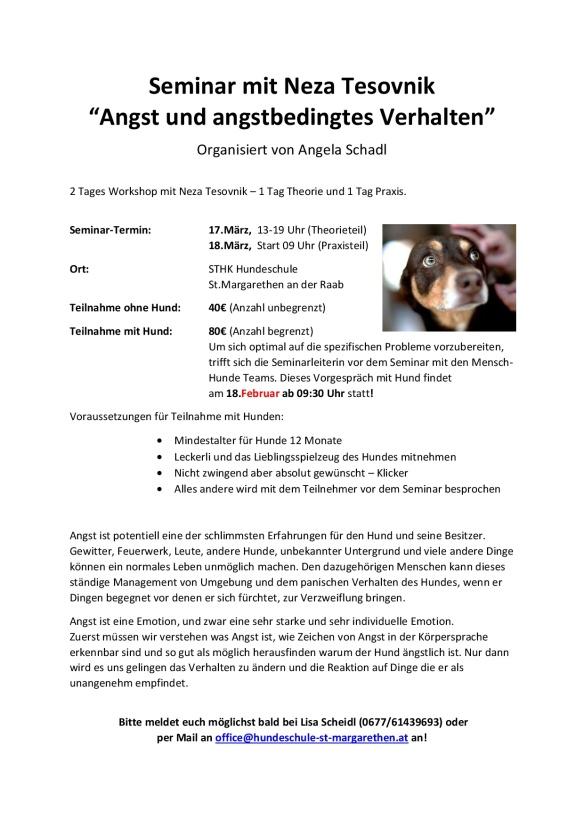 Info über Seminar 'Angst und Angsbedingtes Verhalten'-001